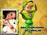 Moldura Tinker Bell Fluminense