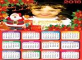 Calendário 2018 Papai Noel Infantil