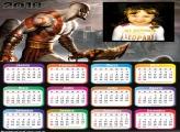 Calendário 2018 God Of War