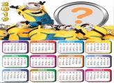 Calendário 2019 Os Minions