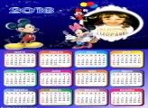 Calendário 2018 Mickey Minnie