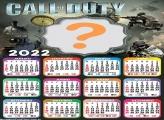 Calendário 2022 Call Of Duty Editar Fotos