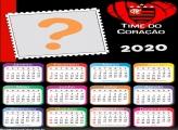 Calendário 2020 Flamengo Time do Coração