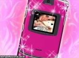 Moldura Celular Motorola V3 Pink