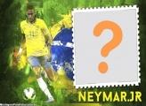 Jogador Neymar Jr Foto Moldura