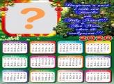 Colagem de Foto Calendário 2020 Mensagem Natalina