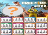 Calendário 2022 Garena Free Fire