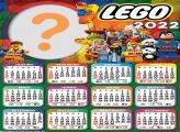 Calendário 2022 Lego Colagem de Foto