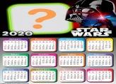 Calendário 2020 Gratuito Starwars Online