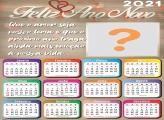 Moldura Calendário 2021 Que o Amor seja nosso Lema