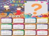 Calendário 2021 Lembrança Festa Junina