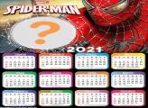 Foto Colagem Calendário 2021 Spider Man