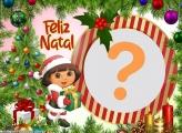Dora Aventureira Feliz Natal Montagem Online