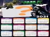 Criar Online Calendário 2021 Hulk vs Batman