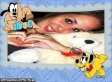 Moldura Pluto e Pateta Baby