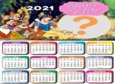 Calendário 2021 Branca de Neve