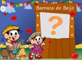 Barraca do Beijo Chico Bento e Mônica