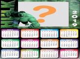 Calendário 2019 Hulk