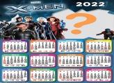 Calendário 2022 X-Men Montar Foto Online