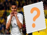 Casemiro do Real Madrid