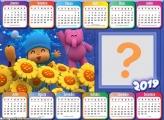 Calendário 2019 Pocoyo