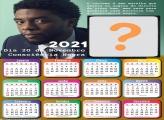 Foto Moldura Calendário 2021 Consciência Negra