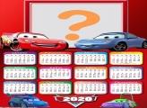 Calendário 2020 Foto Colagem Carros