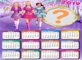 Calendário 2019 Amigas Barbie Escola