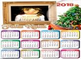 Calendário 2018 Feliz Natal Enfeite Natalino
