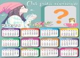 Calendário 2021 Chá para Meninas