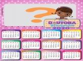 Calendário 2020 Desenho Doutora Brinquedos