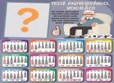Calendário 2022 Aniversário Sogro Fazer Montagem