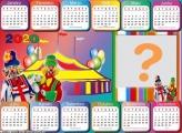 Calendário 2020 Circo Patati Patatá Horizontal