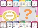 Calendário 2019 Horizontal Feminino