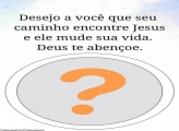 Encontre Jesus Foto Moldura