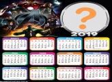 Calendário 2019 Vingadores