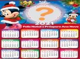 Calendário 2021 Mickey e Minnie de Natal