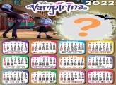 Calendário 2022 Vampirina Foto Montagem