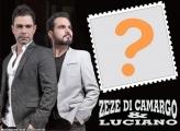 Zezé Di Camargo e Luciano Foto Moldura