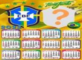 Calendário 2022 Brasil Colar Foto