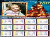 Calendário 2017 Bom Natal Feliz Natal