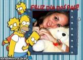 Moldura Dia dos Pais Simpsons