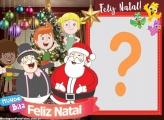 Fazer Montagem Mundo Bita Feliz Natal Papai Noel