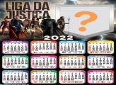 Calendário 2022 Liga da Justiça Foto Online