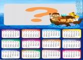 Emoldurar Calendário 2020 Arca de Noé