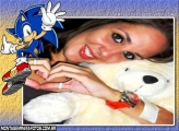 Moldura Super Sonic Game
