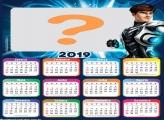 Calendário 2019 Max Steel