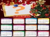 Colagem de Foto Calendário 2020 Árvore de Natal