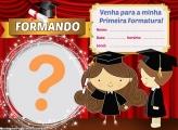 Convite de Formatura Infantil Online