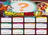 Emoldurar Calendário 2021 Dragon Ball Super